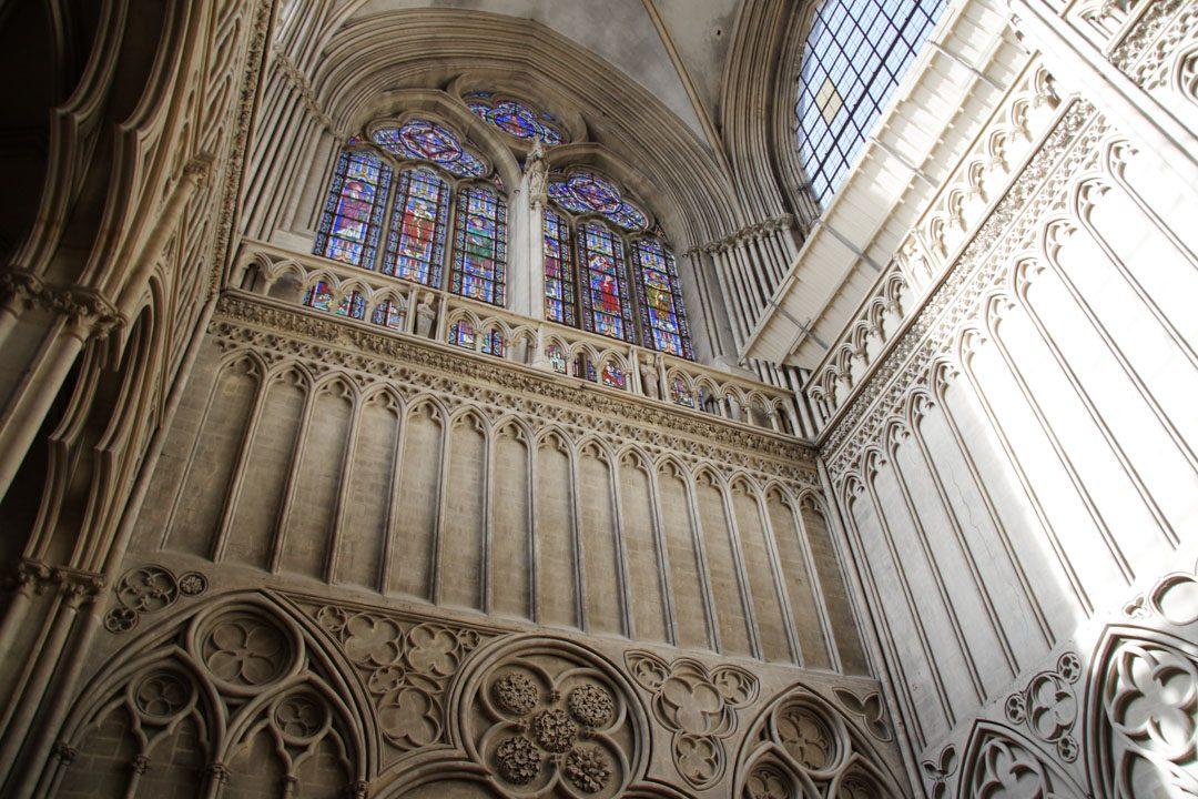 intérieur de la cathédrale de Bayeux