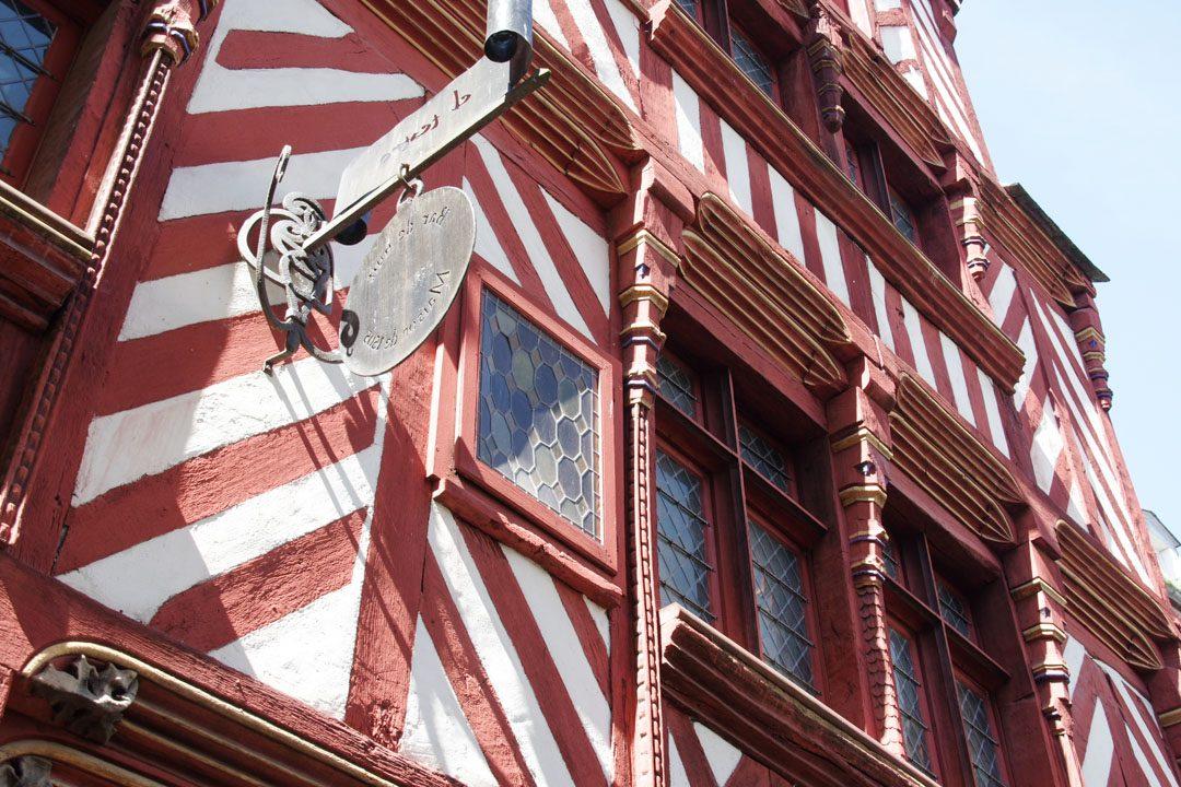 maison à colombage de Rennes