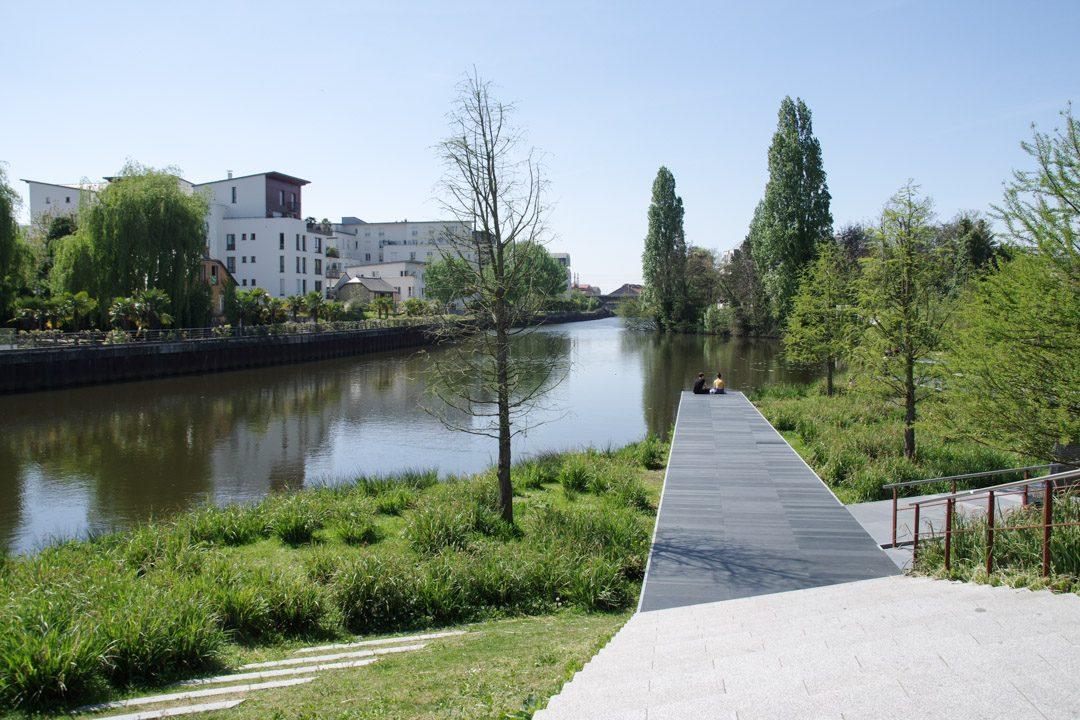 confluence entre l'ille et la vilaine - Rennes
