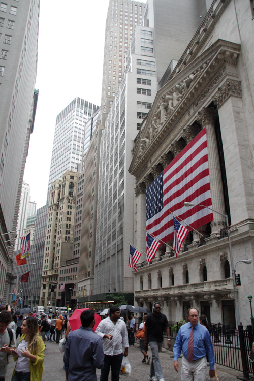 La Bourse de New York - Wall Street