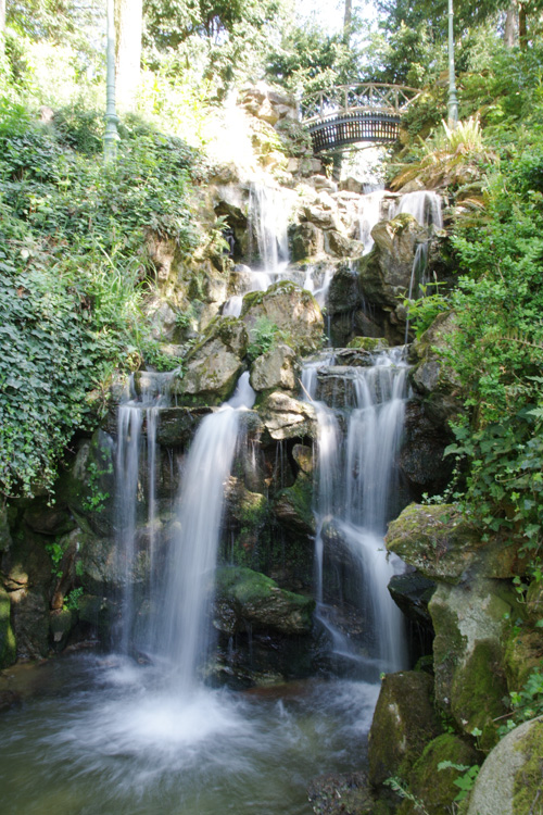 cascade du parc Thabor - Rennes