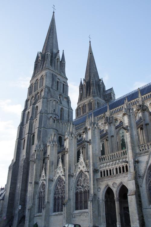 Tours de la cathédrale de Bayeux