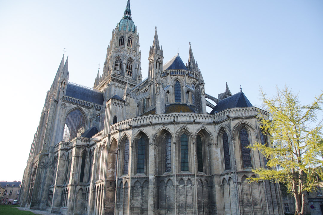 Ma visite de la Cathédrale de Bayeux