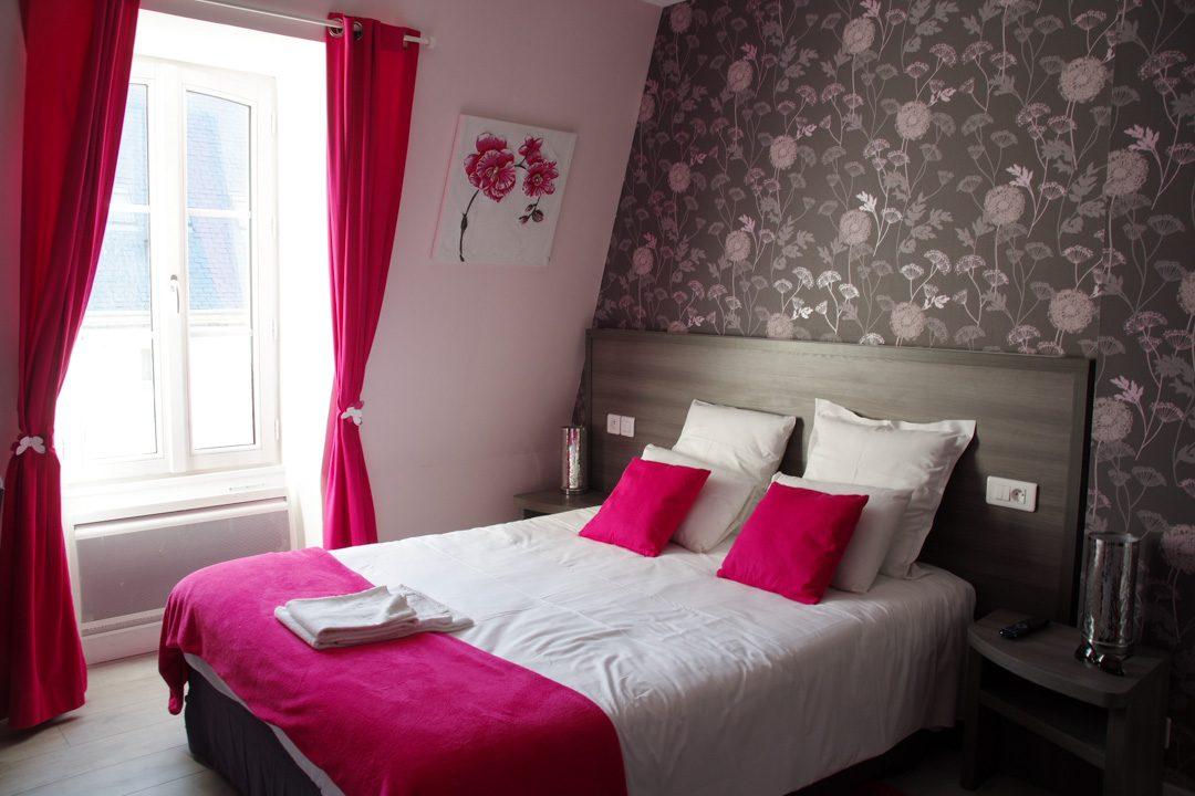 ma chambre à l'hôtel Saint Patrice à Bayeux