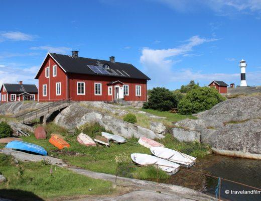 l'ile Huvudskar dans l'archipel de Stockholm