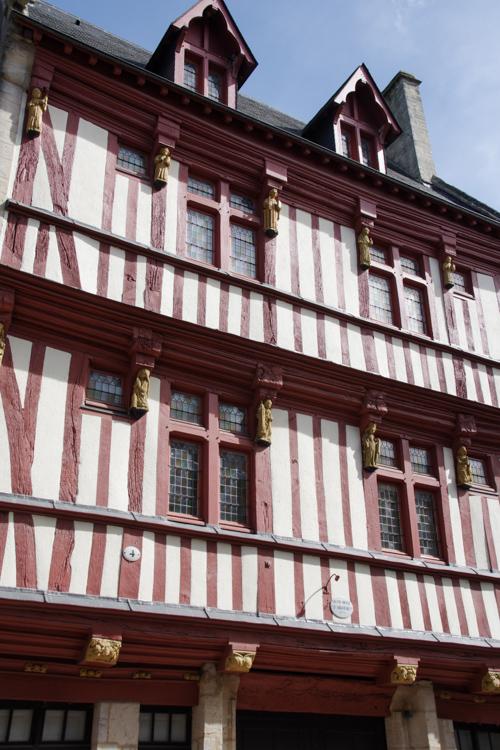 Maison médiévale à colombages - Bayeux
