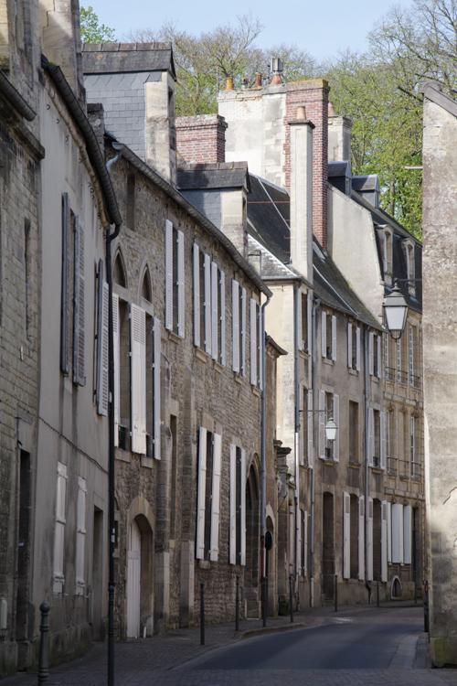 Ruelle du centre historique de Bayeux