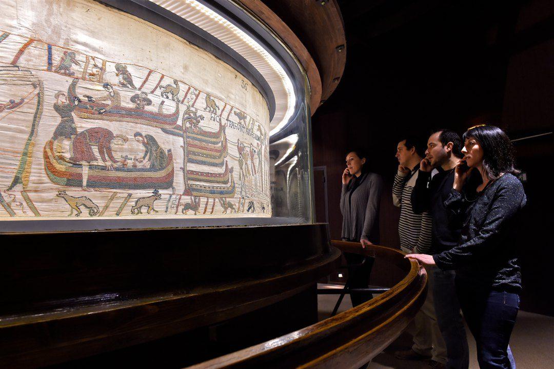 Visite de la tapisserie de Bayeux