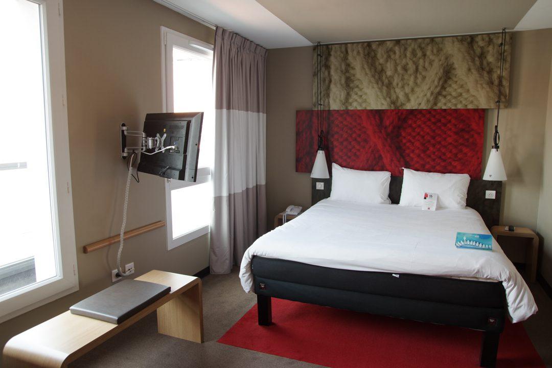 Ma chambre à l'hotel Ibis Lille Grand Palais