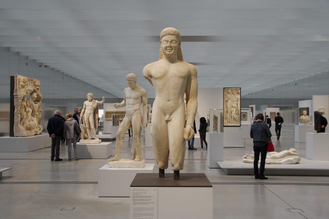 La galerie du temps - Le Louvre Lens