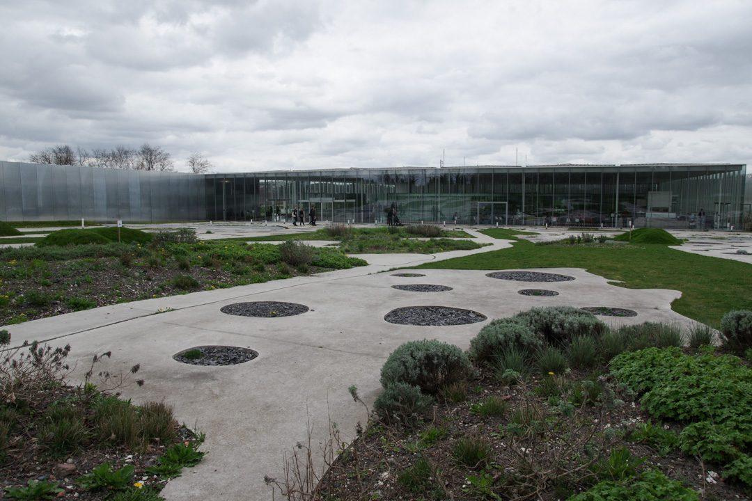 le jardin du musée du Louvre Lens