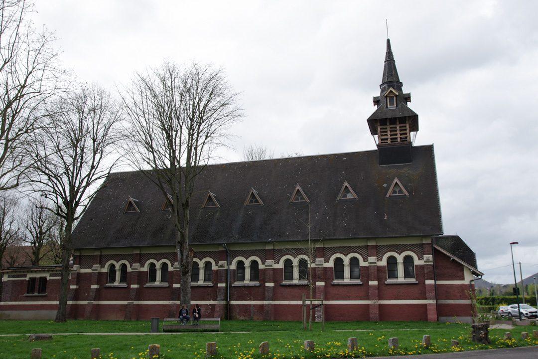 Eglise d'une cité minière à Lens
