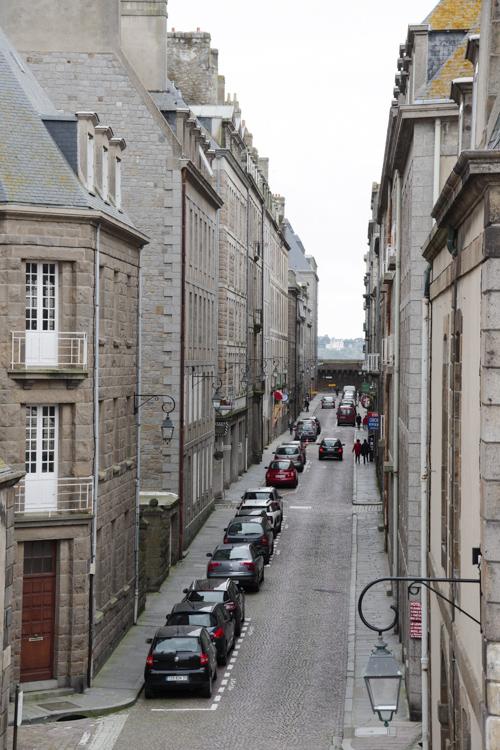 Les rues de la cité corsaire - Saint-Malo