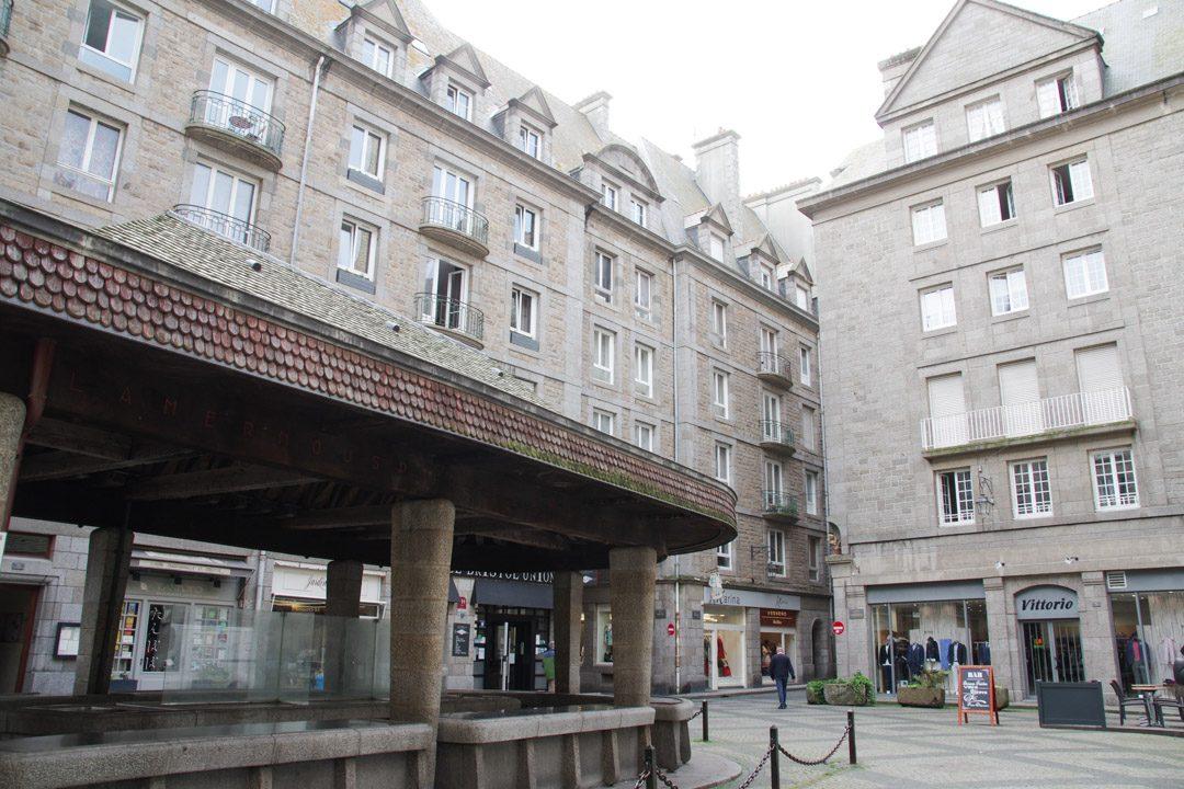 Halle aux poissons - Saint Malo