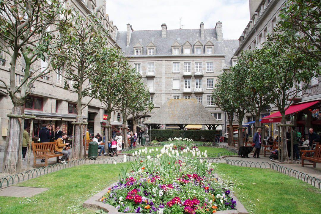 Place du marché aux légumes - Saint Malo