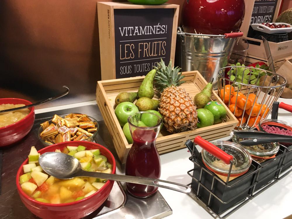Petit déjeuner Ibis Lille Grand Palais