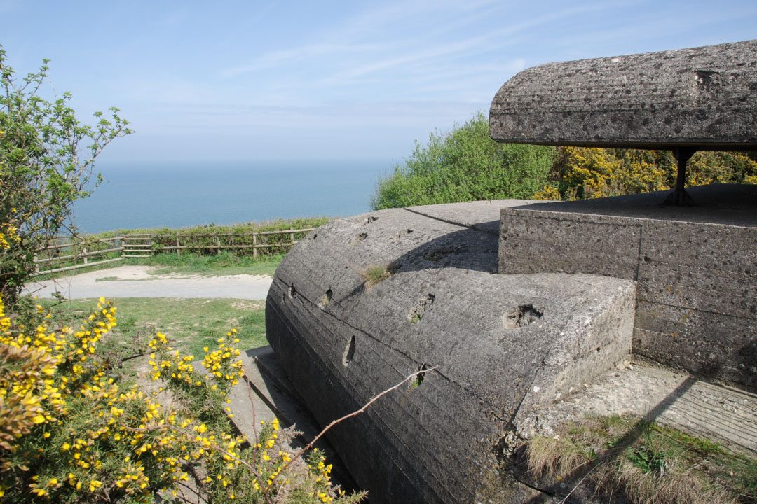 Poste de commandement de la batterie allemande de Longues-sur-Mer