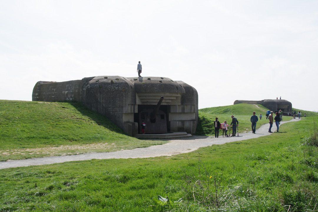 Canons de la batterie allemande de Longues sur Mer