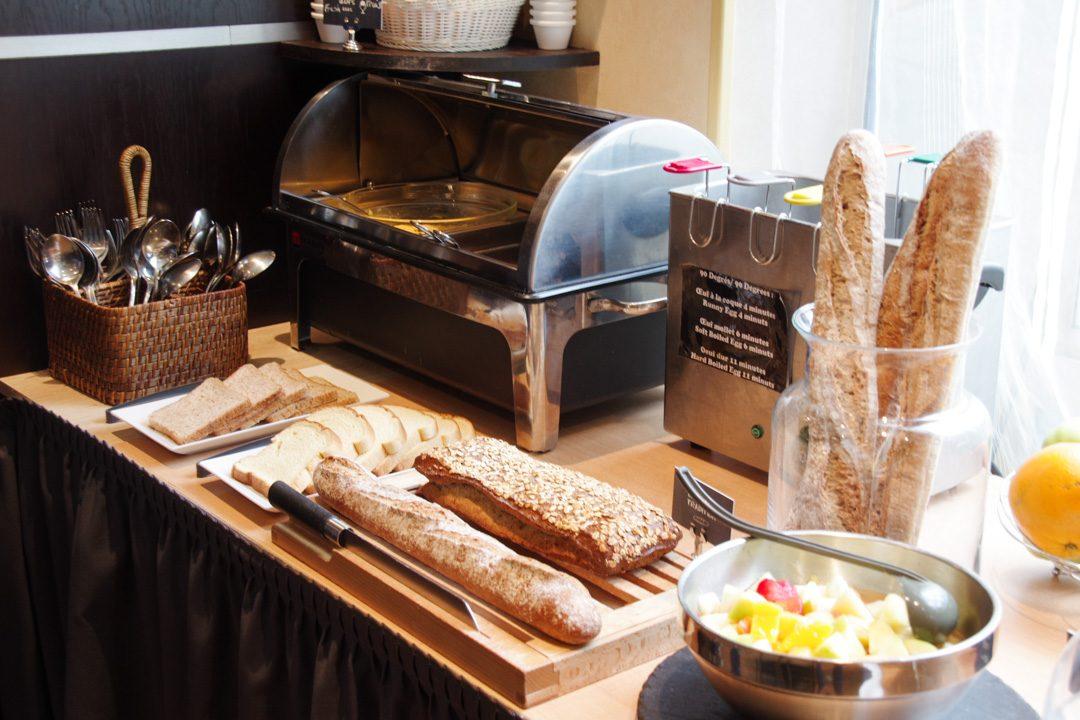 buffet petit déjeuner HappyCulture