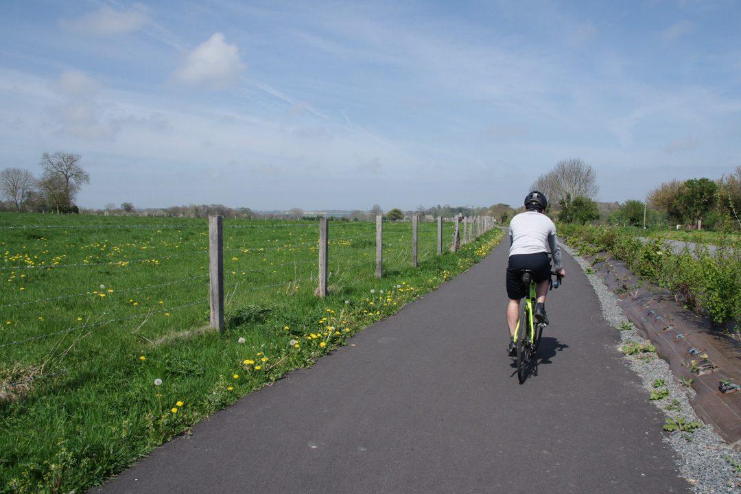 A vélo à travers le bocage normand