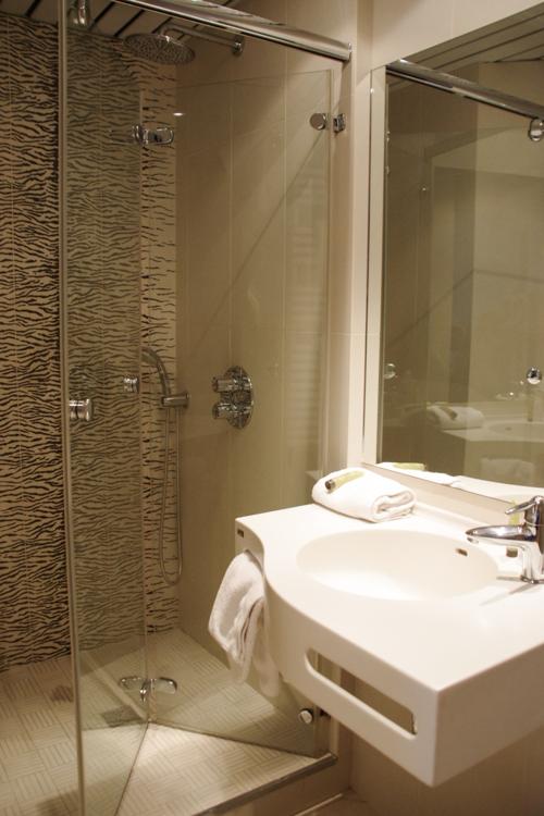 Salle de bain - hotel de la cité Saint Malo