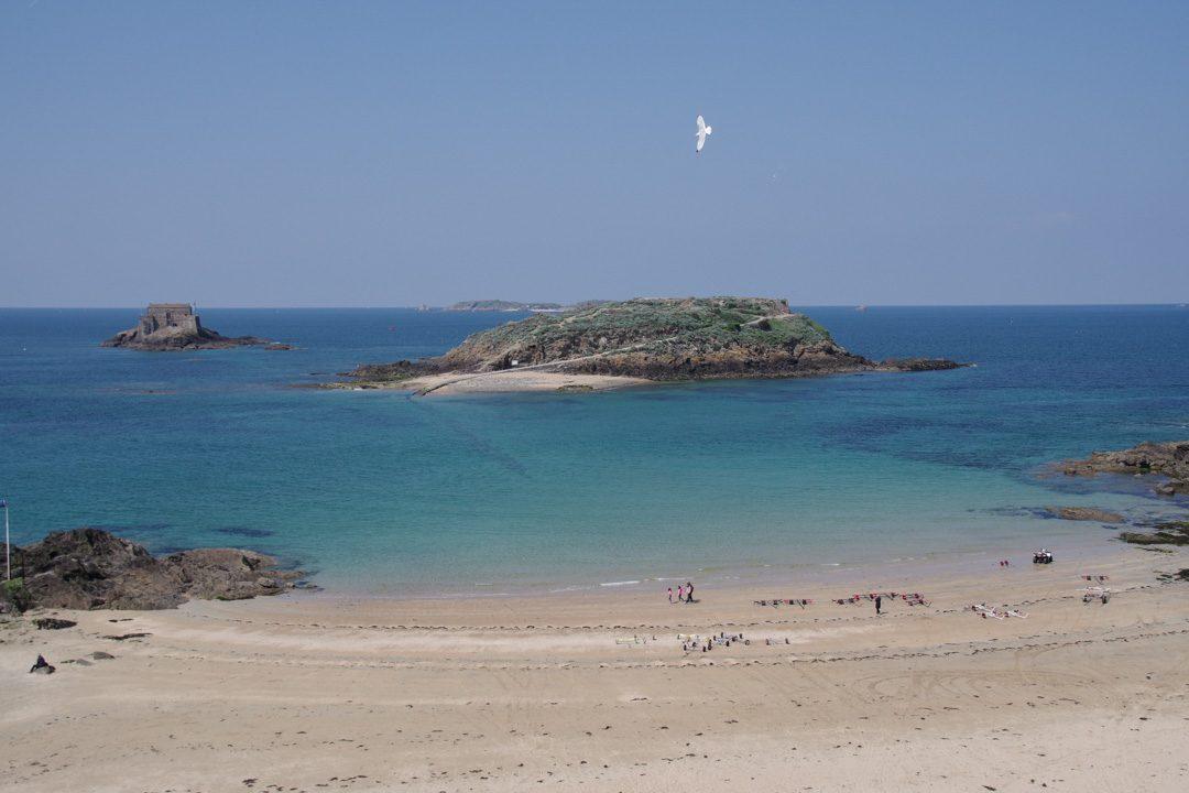 iles du grand bé et du petit bé à Saint-Malo