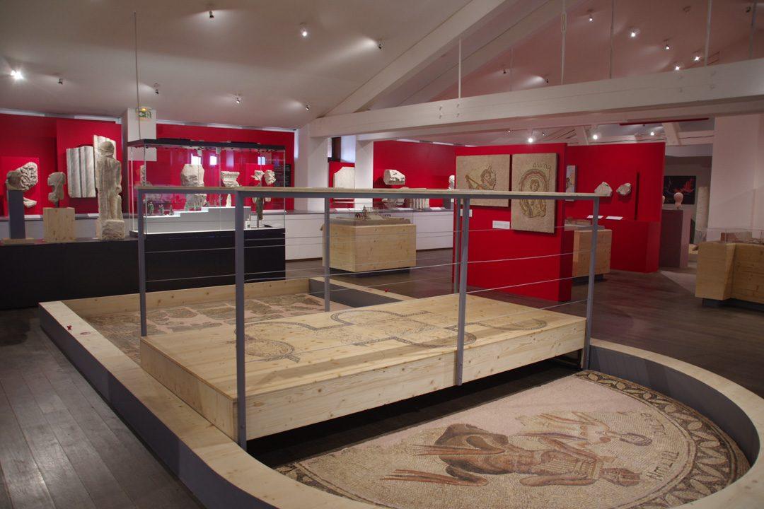 Salle intérieure du musée Saint Raymond de Toulouse