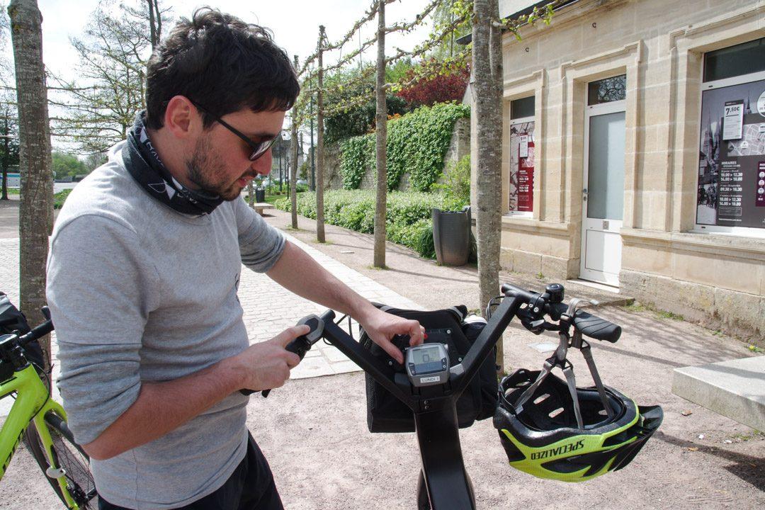 Explication du fonctionnement du vélo
