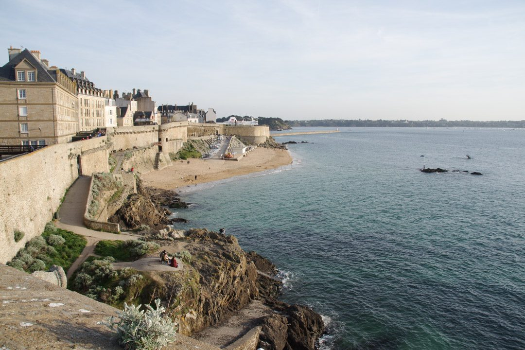 Balade des remparts à Saint-Malo