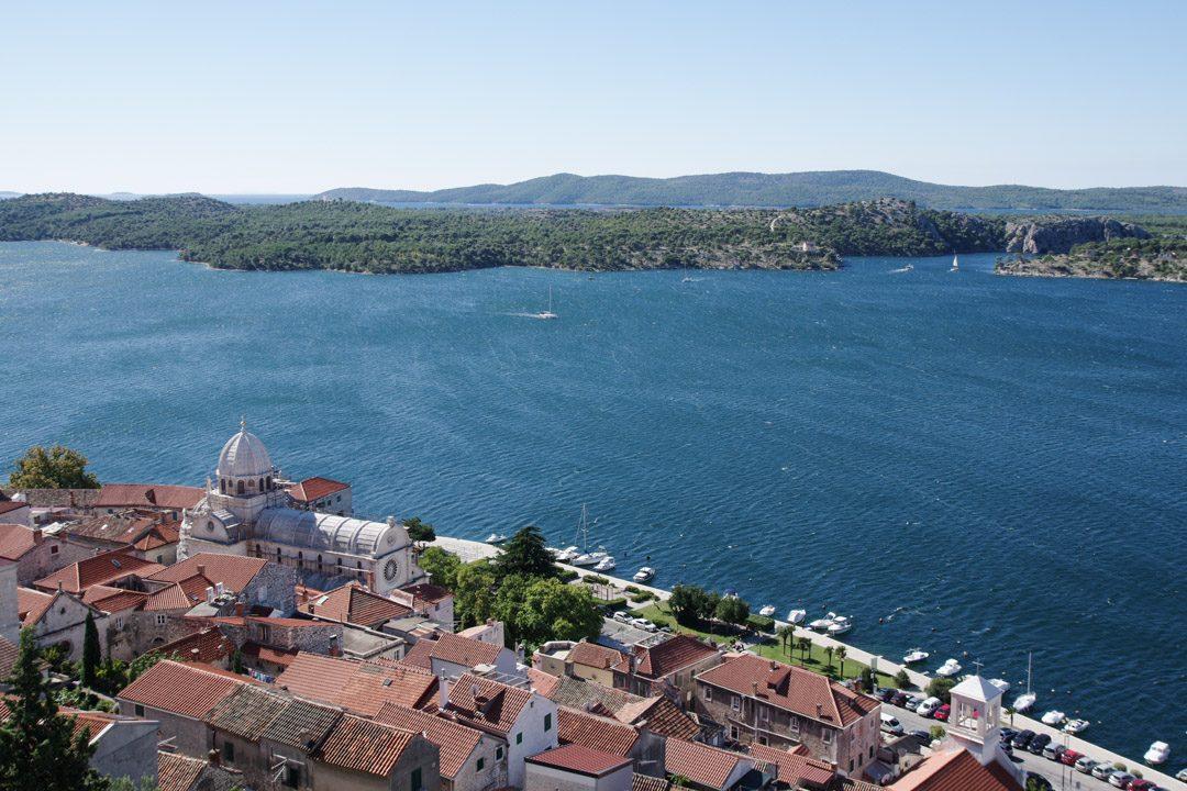 Panorama sur Sibenik