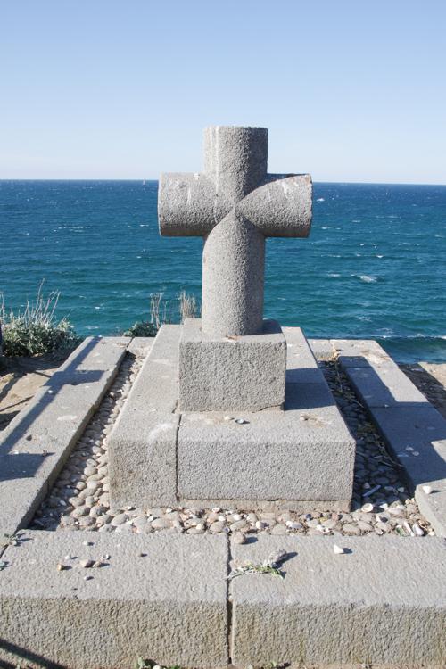 LA tombe de chateaubriand sur l'île du Grand Bé