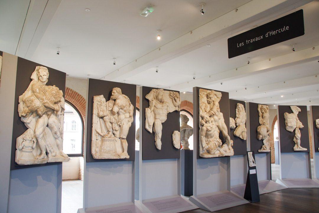 Les travaux d'Hercule - ville romaine de Chiragan
