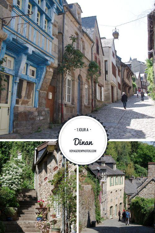 Guide pratique pour découvrir la vieille ville de Dinan en Bretagne réputée pour ses nombreuses maisons à pans de bois