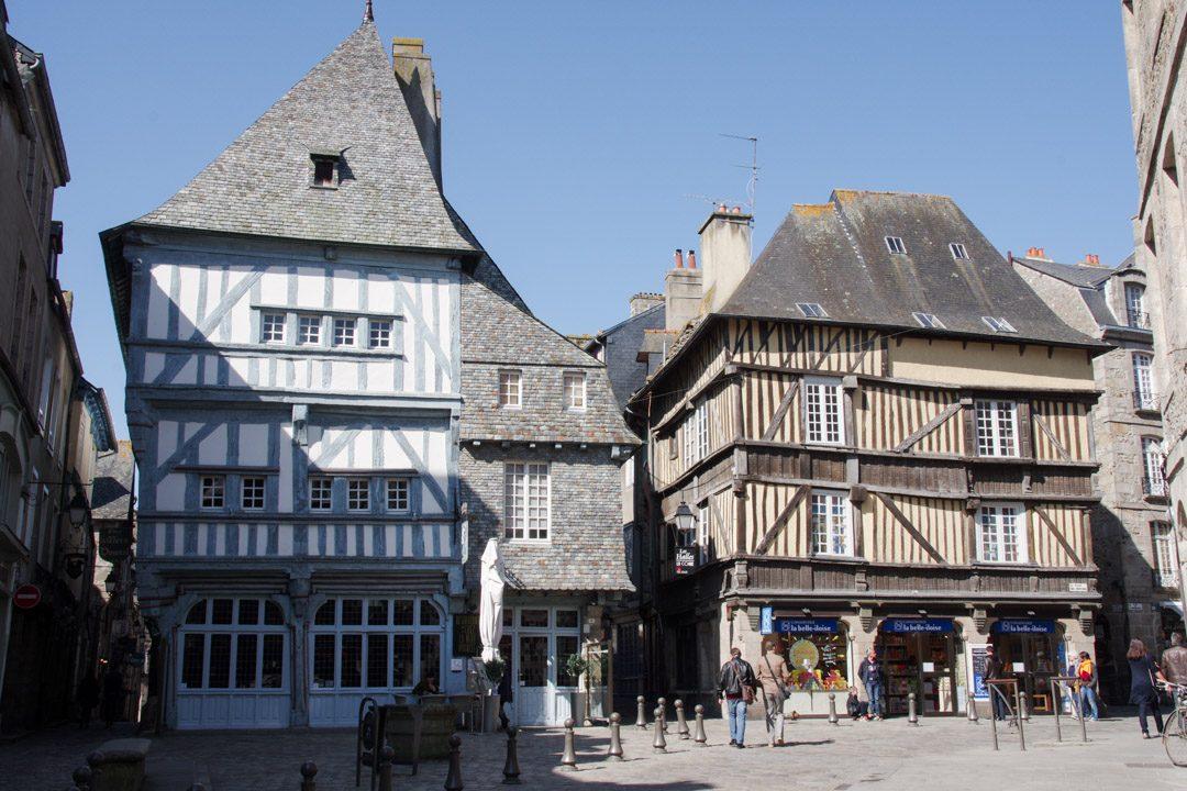 Place des merciers - Dinan