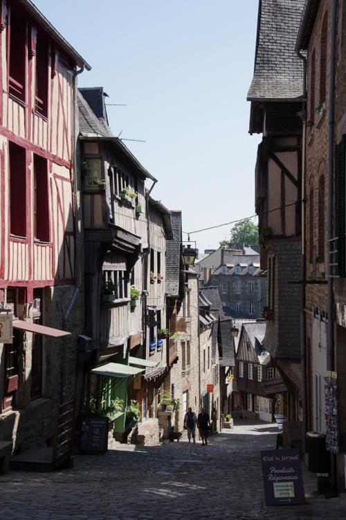 Rue du Jerzual à Dinan