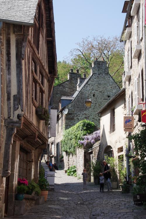 Rue du Petit Fort à Dinan
