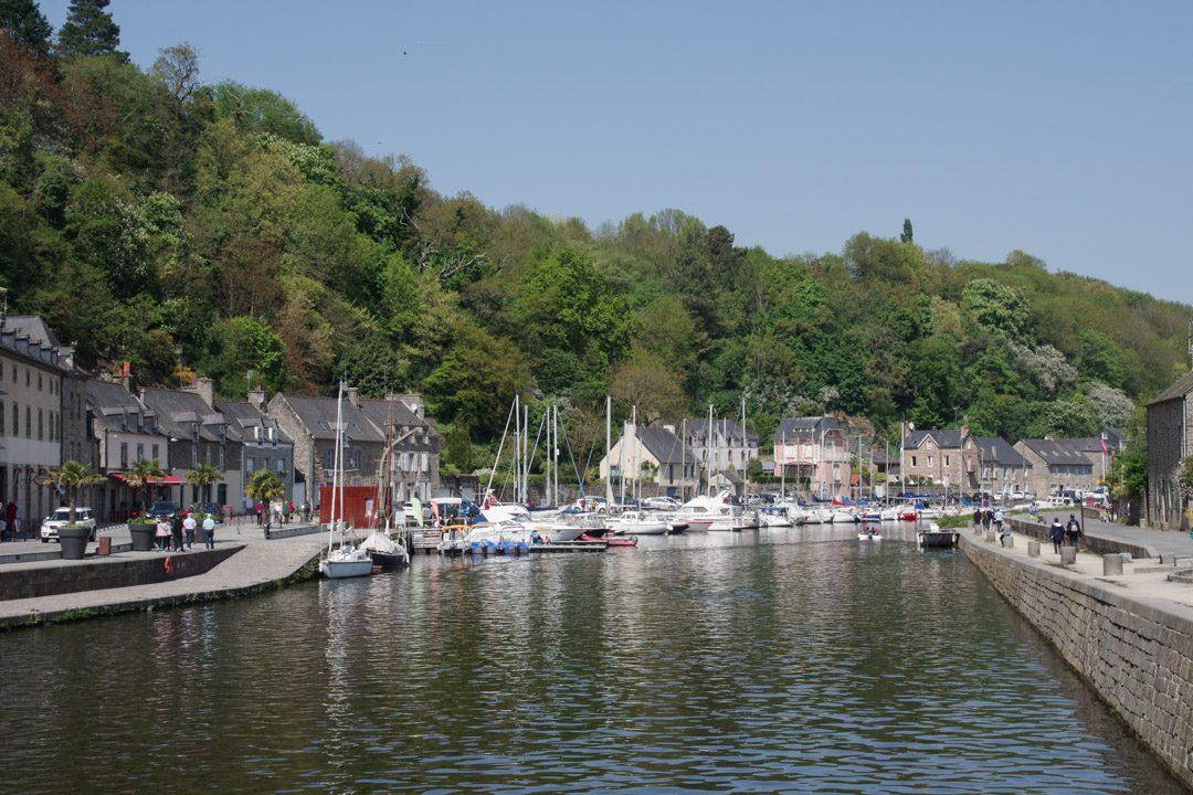 le port de la Rance à Dinan