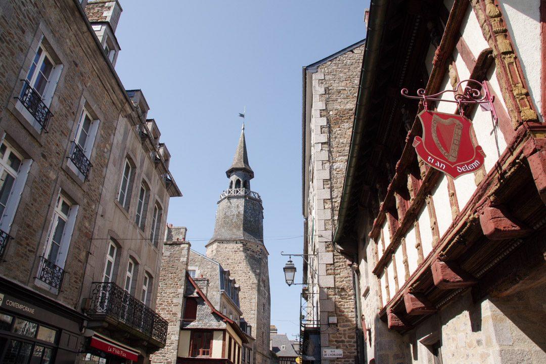 la tour de l'Horloge de Dinan