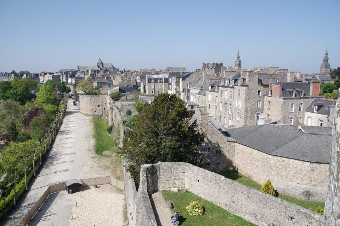 Remparts du chateau de Dinan