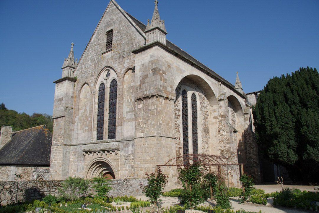 Abbaye Saint Magloire de Lehon près de Dinan