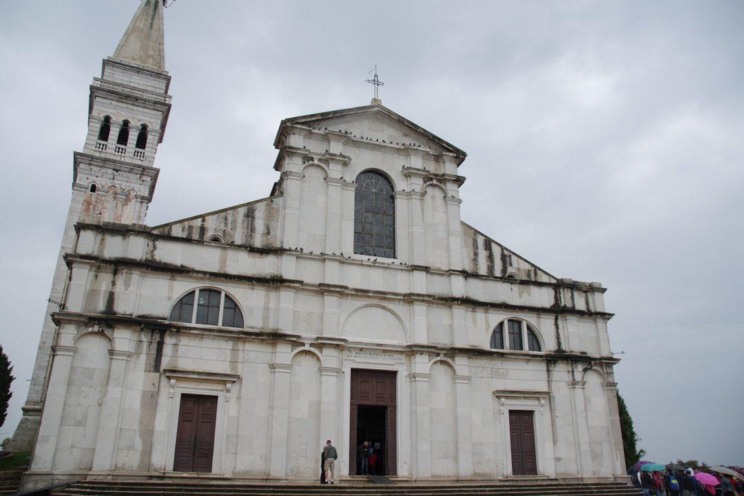 la cathédrale sainte euphémie de Rovinj