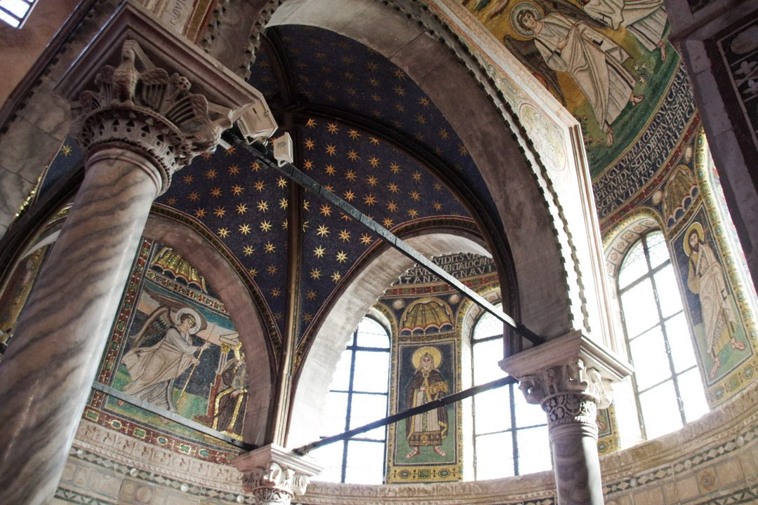 Mosaique de la basilique euphrasienne à Porec