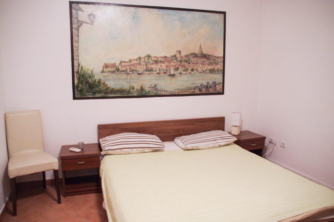 chambre d'hotel à Porec en Croatie