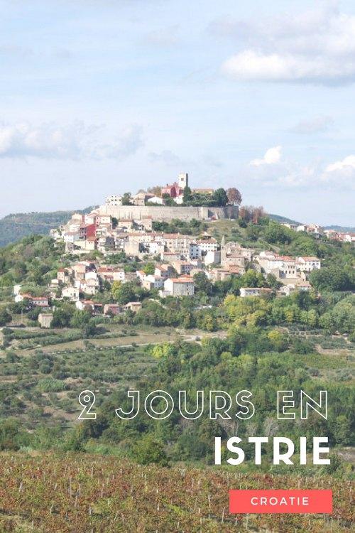 Quelques idées pour découvrir l'Istrie, à l'ouest de la Croatie : Porec, Rovinj et les villages perchés dans l'arrière pays