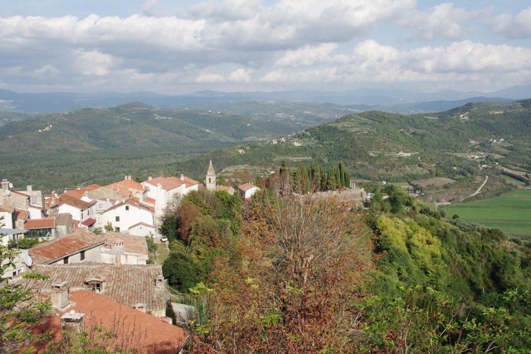 Panorama sur Motovun