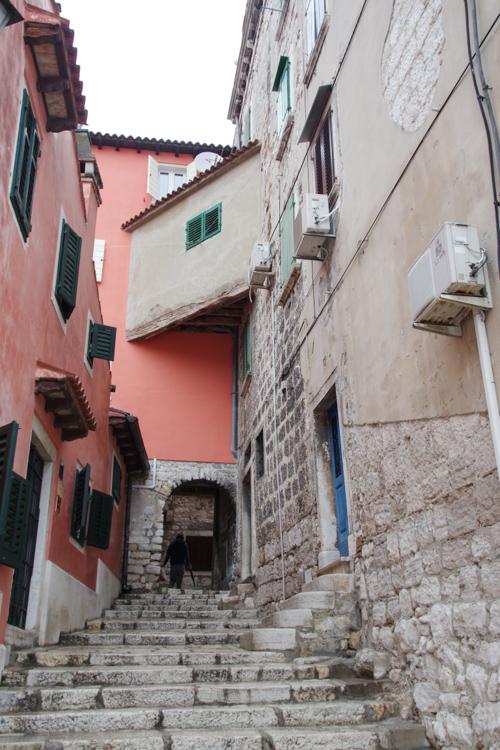 Ruelles du centre historique de Rovinj