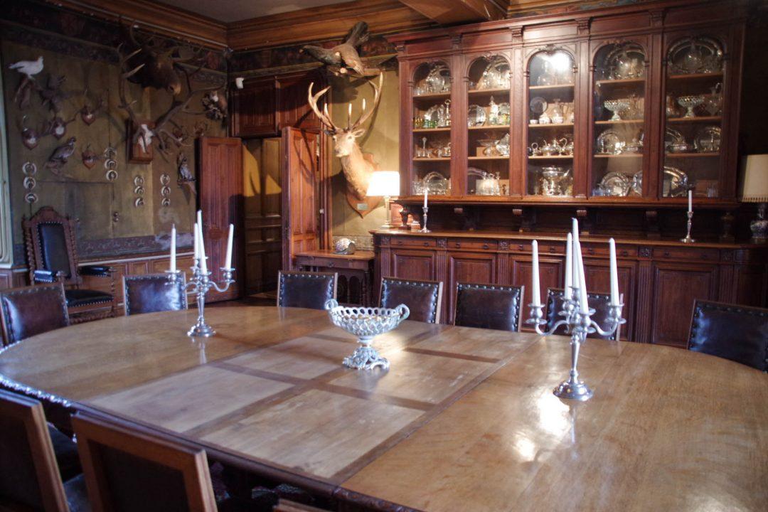 Salon de chasse - château de Montrésor