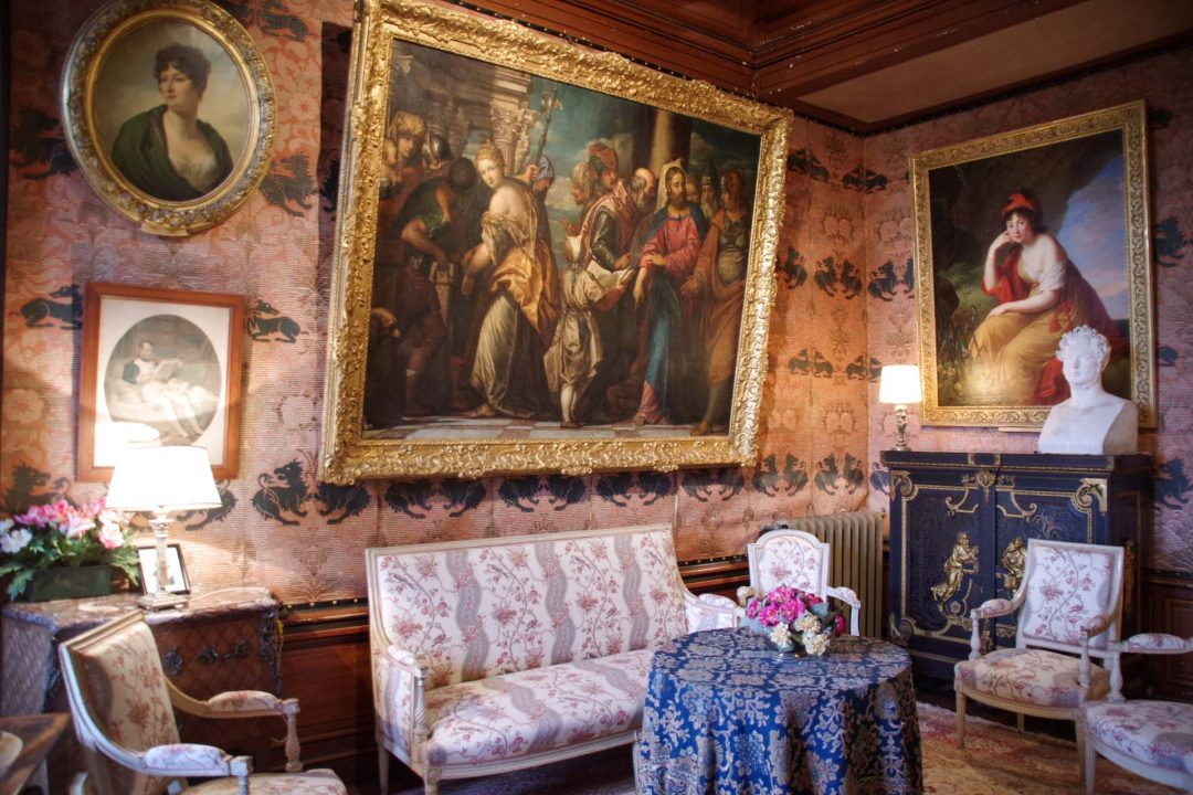 Salon du chateau de Montrésor