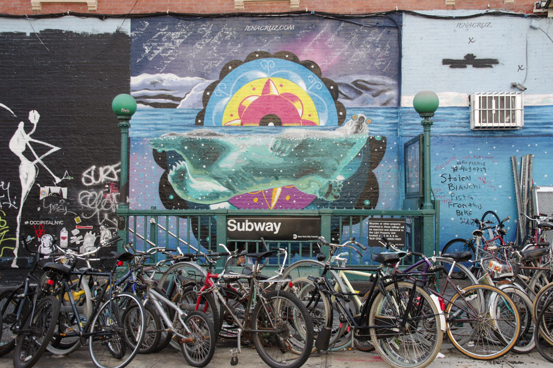 Williamsburg : balade street-art dans le quartier hipster de New-York
