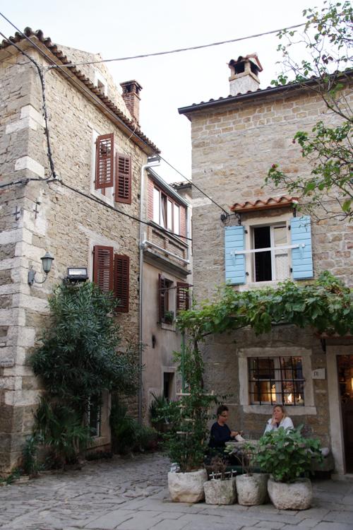 Village de Groznjan en Croatie